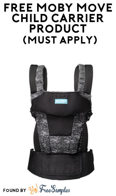 FREE Moby Move Child Carrier Product From Viewpoints (Must Apply)