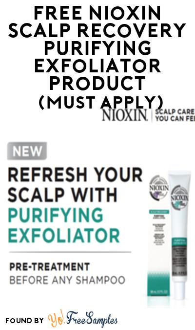 FREE Nioxin Scalp Recovery Purifying Exfoliator Product From Viewpoints (Must Apply)