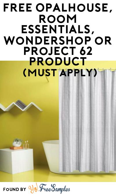 FREE Opalhouse, Room Essentials,Wondershop or Project 62 Product From Viewpoints (Must Apply)