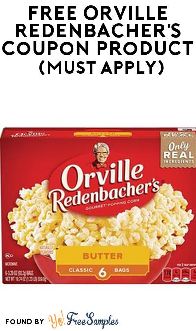 FREE Orville Redenbacher'sCoupon Product From Viewpoints (Must Apply)