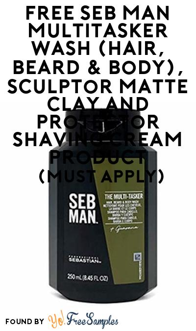 FREE SEB MAN Multitasker Wash (Hair, Beard & Body), Sculptor Matte Clay and Protector Shaving Cream Product From Viewpoints (Must Apply)