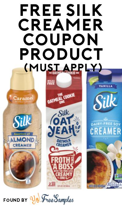 FREE Silk Creamer Coupon From Viewpoints (Must Apply)