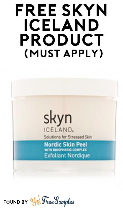 FREE Skyn Iceland Product From Viewpoints (Must Apply)