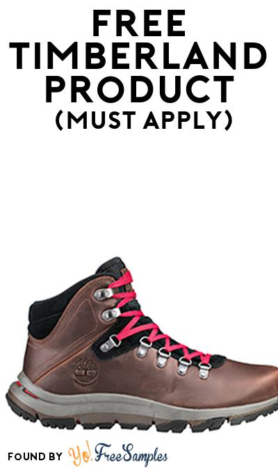 FREE Timberland Product From Viewpoints (Must Apply)
