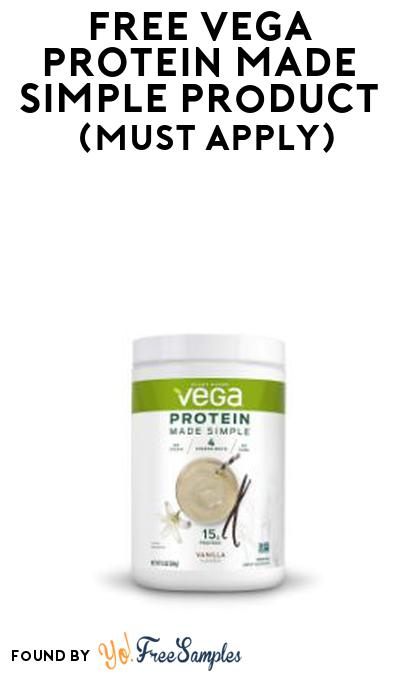 FREE VEGA PROTEIN MADE SIMPLE Product From Viewpoints (Must Apply)