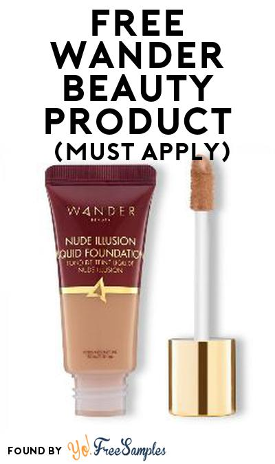 FREE Wander Beauty Product From Viewpoints (Must Apply)