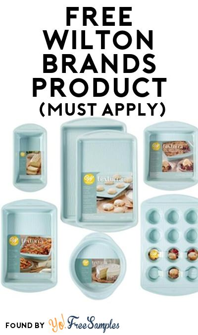 FREE Wilton Brands Product From Viewpoints (Must Apply)