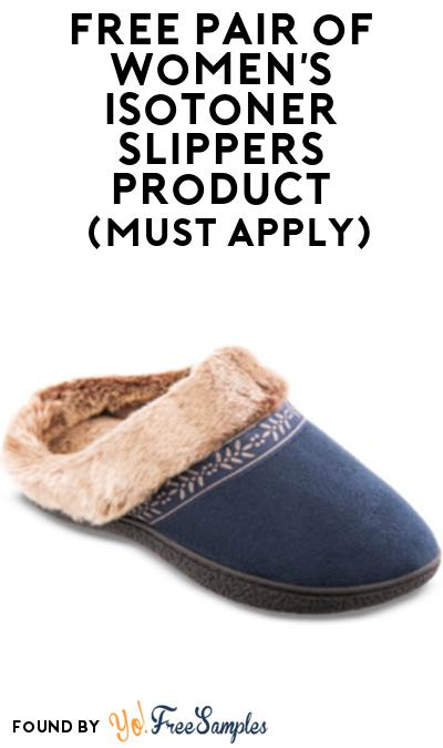 FREE Women's Isotoner Slippers From Viewpoints (Must Apply)