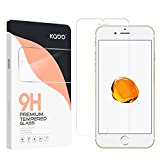 (4-Pack) iPhone 7 Glass Screen Protector, KABB 9H Hardness Tempered Glass Screen Protector Apple HD Clear Shatterproof 9H Surface Hardness with Oleophobic Coating Anti-Fingerprint for iPhone 7 (4.7