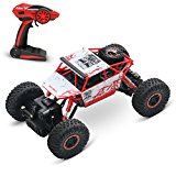 1/18 Rock Crawler 2.4 GHz Radio Control Vehicle | Double Powerful Motors With Articulated Front And Rear Suspension