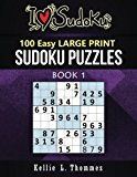 100 Easy Sudoku Puzzles: Large Print