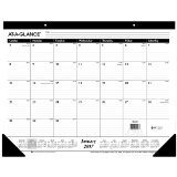 AT-A-GLANCE Desk Pad Calendar 2017, Monthly, Ruled, 21-3/4 x 17