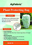 Agfabric 1.5oz Fabric Plant Cover for Frost Protection,Round In-shape (84''Hx84''Dia)