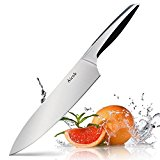 Aicok 8-Inch Chef Kitchen Knife with Stainless Steel Razor Sharp Blade and Ergonomic Handle