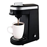 Aicok Single Serve Coffee Maker Compact Travel Coffee Machine Personal Cup One Cup Capsule Brewer