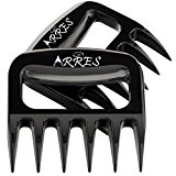 Arres Original Pulled Pork Claws & Meat Shredder - BBQ Grill Tools and Smoking Accessories for Carving, Handling, Lifting