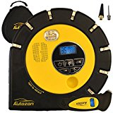 Autozon Premium Digital Tire Inflator - Electric 12V DC Portable Auto Shut-Off Air Compressor 150 PSI - Powerful Inflation 40L/Min. Amazing Gift Included - A Brand Digital Tire Pressure Gauge