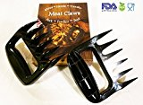 BBQ Bear Paws Meat Handling Claws Pulled Pork Shredders - BPA free barbecue paws claw handler kitchen tool