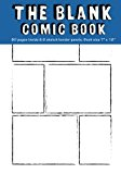 Blank Comic Books for Kids: 6 Equal Comics Panels,7