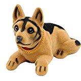 Bobble Head Dogs Bobbing Heads Car Dash Ornaments Puppy for Car Vehicle decoration(Shepherd)