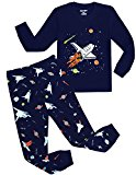 Boys Pajamas Plane Long Cotton Kids Clothes Pjs Toddler Sleepwear Pants Set Size2t