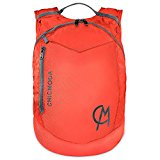 CHICMODA Waterproof Lightweight Packable Durable Travel Hiking Backpack Daypack, Orange