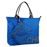 CHICMODA Women's Gym Tote Bag Large Rommy Beach Bag with Removable Zipper Pouch