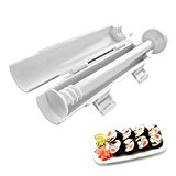 CUH Sushi Roller Kit Sushi DIY Making Tool Maker Kit Sushi Making Machine For Easy Sushi Rolling Kit