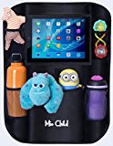 Car Back Seat Organizer With Tablet Holder - Fun Rides for You and Your Kids! - Protect Your Vehicle and Keep It Organized - By Mio Child