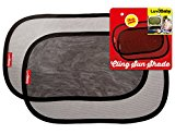 Car Cling Sun Shades for Baby - 2 Pack - Premium Quality Vehicle Sunshades - Auto Window Shades - Block UV Rays- Protect Children From The Sun's Glare