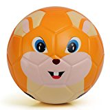Chastep Toddler Soft Training Animal Soccer 6 Inch Mini Foam Kawaii Toy Ball for Kids - Chowhound Squirrel