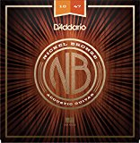 D'Addario Nickel Bronze Acoustic Guitar Strings, Extra Light
