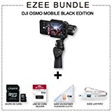 DJI Phone Camera Gimbal OSMO MOBILE, Black EZEE Bundle