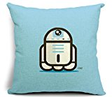 Dececos Star Wars Decorative Cotton Linen Blend Throw Pillow Cover Square Pillow Case Cushion Cover 18 x 18 Inches