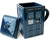 Doctor Who Figural Tardis Mug, 17 oz