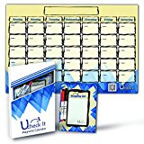 Dry Erase Board Monthly Magnetic Calendar For Refrigerator - 11