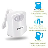 Eneston LED Toilet Night Light -Motion Sensor 8 Colors Changing Wiht 2 Modes Include Inside Bathroom Washroom - Cool New Gadget for Safety and Comfort