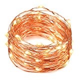 Fairy Lights,Oak Leaf 2 Set of Micro 30 LED String Lights,4.9 Ft (1.5m) for DIY,Home,Party,Wedding Centerpiece or Table,Warm White