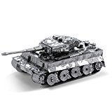 Fascinations Metal Earth Tiger I Tank 3D Metal Model Kit