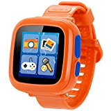 GBD Game Smart Watch for Kids Children Boys Girls with Camera Touch Screen Pedometer Timer Alarm Clock Toy Smartwatch Wristwatch Wristband Health Monitor (Orange)
