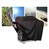 Gas Grill Cover, Medium 58-inch Heavy Duty Waterproof BBQ Grill Cover for Weber, Holland, Jenn Air, Brinkmann and Char Broil