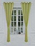 Ifblue Window Treatments Flyling Eyelet Sheer Curtain (52
