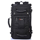 KAKA Backpack Camping Hiking Outdoor Trekking Knapsack Black #2050
