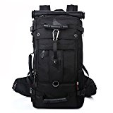 KAKA Hiking Travelling Rucksack Camping Tactical Climbing Bags Black #2070