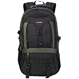 KAKA Multipurpose Business Laptop Backpack Hiking Backpack Travel Knapsack # 2020 Army Green
