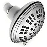 Luxury Shower 6 Spray Settings Luxury Shower Head -Includes 2 Filters And Teflon Tape -Premium Chrome Finish Shower Head - Adjustable, Multifunctional, Powerful & Convenient Shower Head