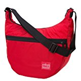 Manhattan Portage Cordura Lite Top Zipper Nolita Bag, Red, One Size