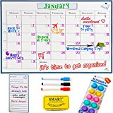 Monday to Sunday Dry Erase Calendar -1612