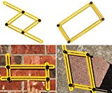 Multi-Angle Template Tool / Ruler by JMG Outdoors, Measures all Angles and Shapes