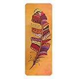 Multifunctional Yoga Mat (6mm) -High Temperature Yoga Mat (Feather)